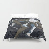 jack frost Duvet Covers featuring Jack Frost by Chouly-Shop