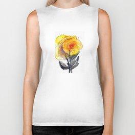 Linda's Yellow Roses Biker Tank