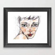 Sara Dane Framed Art Print