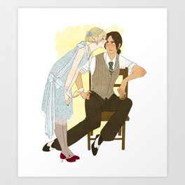 as long as i have you Art Print