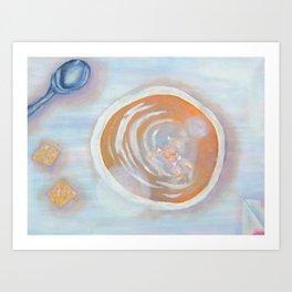 Nude Soup Art Print