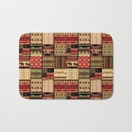African patchwork. Bath Mat