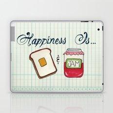 Happiness Is Toast & Jam Laptop & iPad Skin