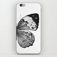 butterfly iPhone & iPod Skins featuring Butterfly by Hermes_GC