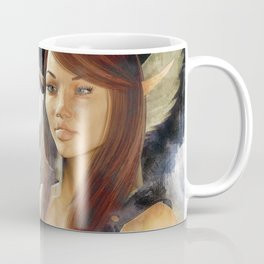 pegaso and  warrior Coffee Mug