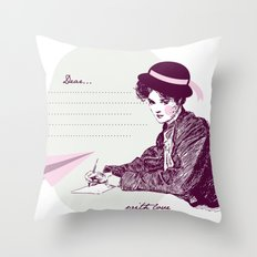 Lady Jane Throw Pillow
