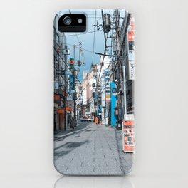 Street in Japan iPhone Case