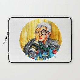 Iris Apfel.  Laptop Sleeve