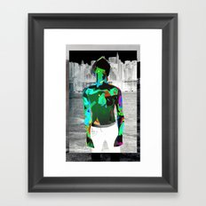 Urban Boy Framed Art Print