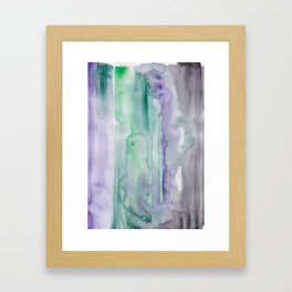 25 | 190907 | Watercolor Abstract Painting Framed Art Print
