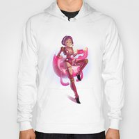 pin up Hoodies featuring Pin up by paul drouin
