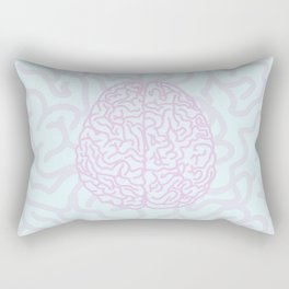 Pastel Brain Rectangular Pillow