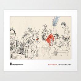 "Marina Grechanik, ""Meal"" Art Print"
