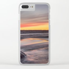Sound of the sea Clear iPhone Case