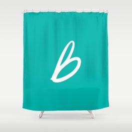 Recettes du Bonheur - Bleu Shower Curtain