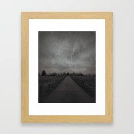 Payson Reservoir Framed Art Print