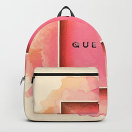 QUEN PASA? Backpack