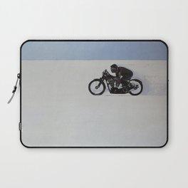 Brough Superior on the Salt Laptop Sleeve