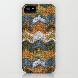 Flying V's Knit iPhone Case