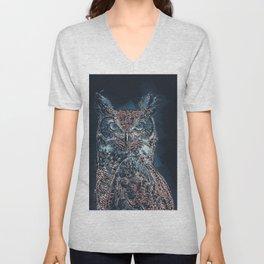 The Night Owl Unisex V-Neck