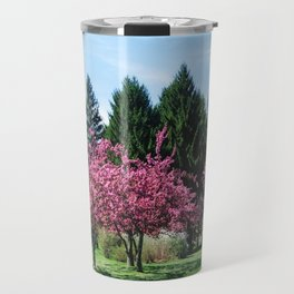 Crab Apple Trees Travel Mug