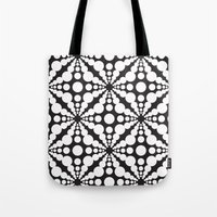 dot Tote Bags featuring DOT by Vadeco