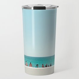 At the beach II Travel Mug