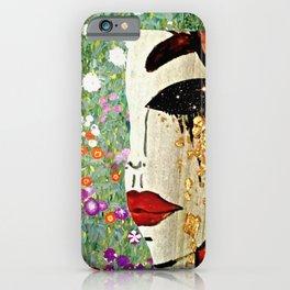 Klimt Remix iPhone Case
