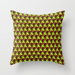 Lizards everywhere Throw Pillow