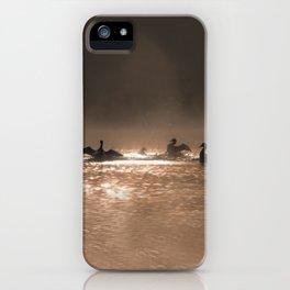 loon dance iPhone Case