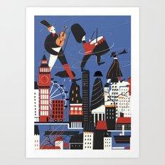 City Sound Art Print