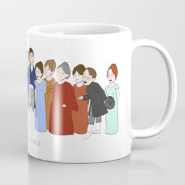 Cast of Jane Austen's Pride and Prejudice Coffee Mug