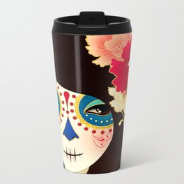 Muertita ~ Candy Metal Travel Mug