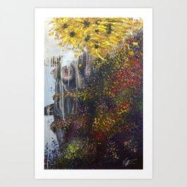 Abloom Art Print