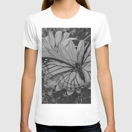Monarch over Aster T-shirt