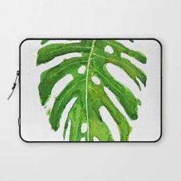 Monstera leaf Laptop Sleeve