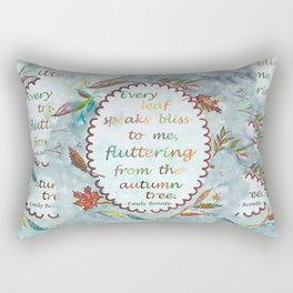 Brontë Quote Rectangular Pillow