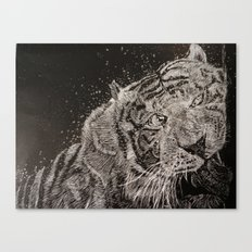 The Tiger Canvas Print