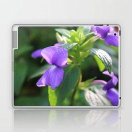 Purple Snap Dragon Flowers Laptop & iPad Skin