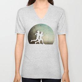 Runners Unisex V-Neck