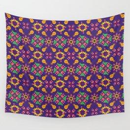 PSYCO TROPICAL BERLIN_Purple Wall Tapestry