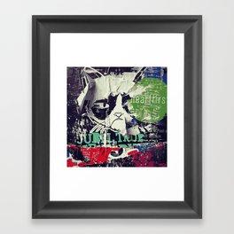 Jubel Cat Framed Art Print