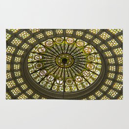 Tiffany Dome of the Chicago Cultural Center Rug