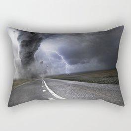 Lightning Road Rectangular Pillow