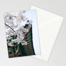 Blossoms Near the Bell, Seoul Korea Stationery Cards