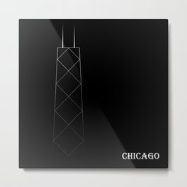 Chicago 3B Metal Print