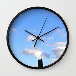 Chicago Sky Wall Clock