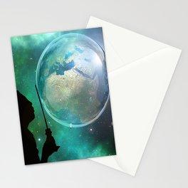 Bubble sky Stationery Cards