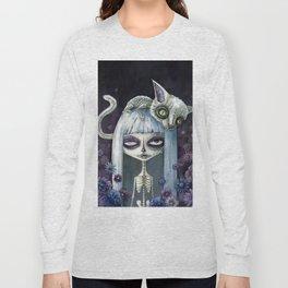 Felina de los muertos Long Sleeve T-shirt