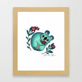 Love You Berry Much Framed Art Print